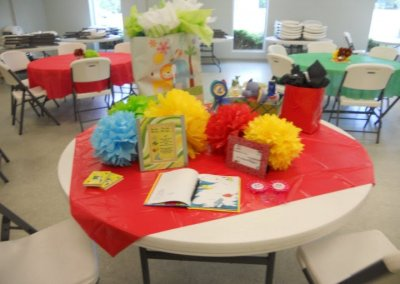 AE NOLES EVENTS- Gift Table
